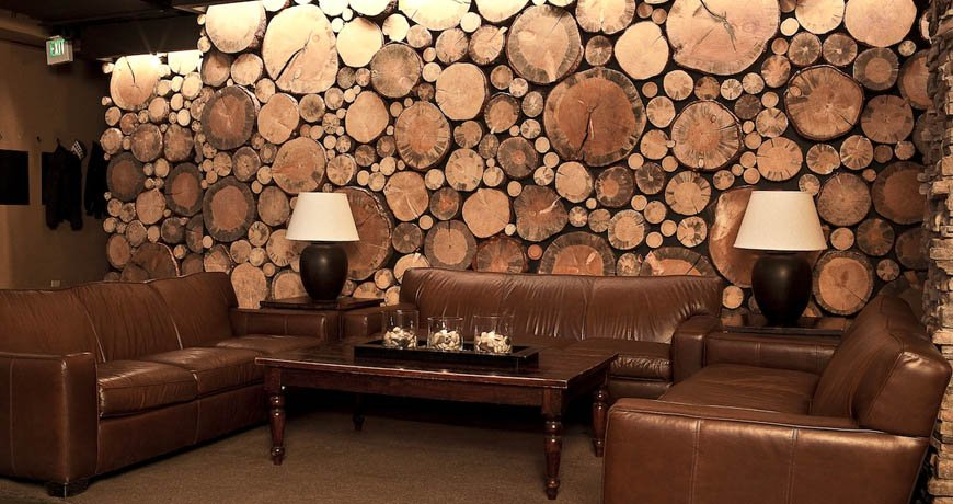 Blog ideas geniales y originales de decoraci n con - Tronco de arbol para decoracion ...
